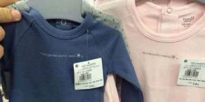 Espagne : des vêtements sexistes pour bébés retirés de la vente