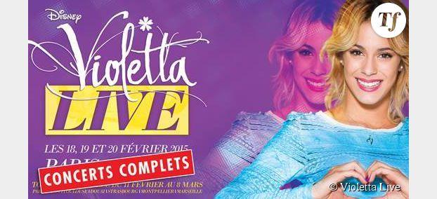Violetta Live : nouvelles dates de concert en France avant la saison 4