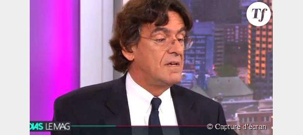 """Médias le Mag : Luc Ferry furieux """"Arrêtez ces conneries, putain !"""" (vidéo)"""