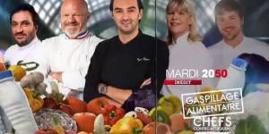 Gaspillage alimentaire : recettes de chefs et poubelles sur M6 Replay / 6Play