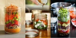 Déjeuner au boulot : trois recettes gourmandes et saines à préparer dans des bocaux