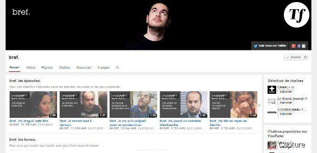 Bref : une chaîne YouTube pour revoir tous les épisodes