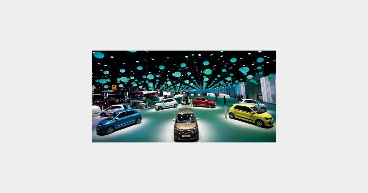 Zone interdite les secrets du salon de l automobile sur for M6 deco replay