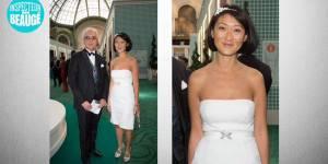 Fleur Pellerin recycle sa robe de mariée pour un événement