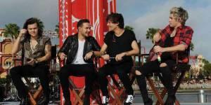 NRJ Music Awards 2014 : les One Direction présents sur scène