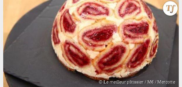 Meilleur pâtissier 2014 : recette de la Charlotte Royale de Mercotte