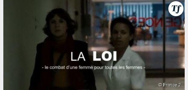 La loi : le combat de Simone Veil sur France 2 Replay / Pluzz