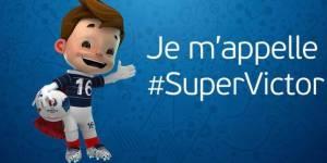 """Euro 2016 : la mascotte """"Super Victor"""" n'est pas au goût des fans de foot"""