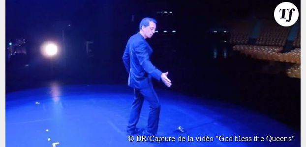 Gad Elmaleh rend hommage à Christine and the Queens - vidéo