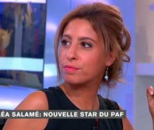 Léa Salamé : heureuse en couple avec Olivier