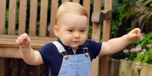 Prince George : à un an, il est déjà accro à la tablette