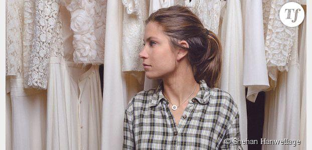 Laure de Sagazan : la créatrice de robes de mariée nous ouvre son atelier