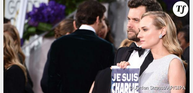 Golden Globes 2015 : George Clooney, Jared Leto et les autres sont tous Charlie (Vidéo)
