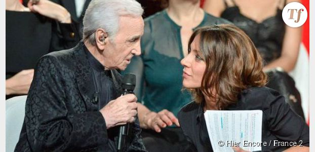 Hier encore : Aznavour reçoit Damien Sargue et Zaz sur France 2 Replay