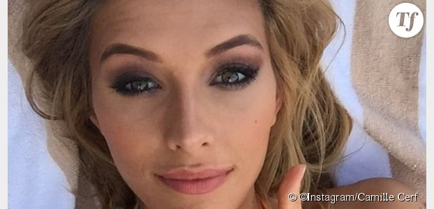 Camille Cerf : Miss France très sexy en bikini