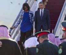 Michelle Obama non voilée scandalise l'Arabie saoudite