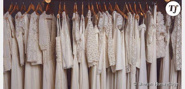 Laure de Sagazan nous présente ses robes de mariée 2015