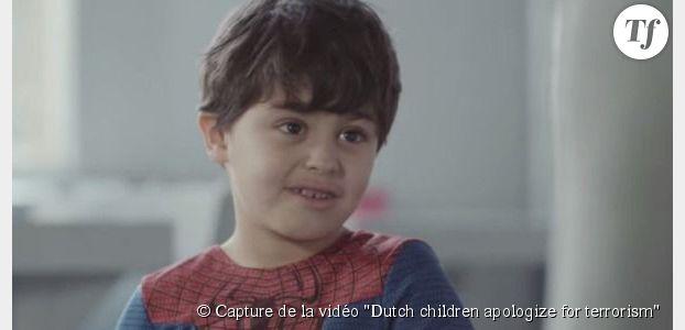 Terrorisme : des gamins forcés de s'excuser dans une vidéo bouleversante
