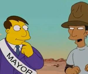 Les Simpson : Pharrell Williams moqué dans la série animée