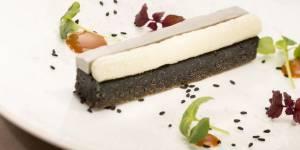 Nouvel An chinois 2015 : la recette du biscuit sésame noir et sorbet shiso de Thierry Marx