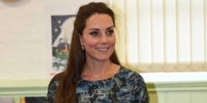 Kate Middleton radieuse et souriante pour son 7e mois de grossesse