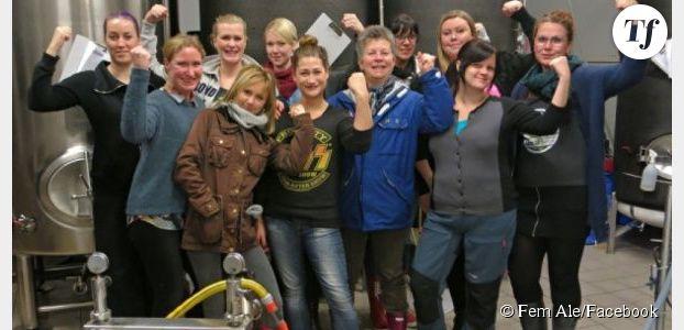La première bière brassée par des femmes en vente en Suède