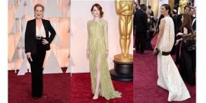 Oscars 2015 : le top 10 des plus belles robes