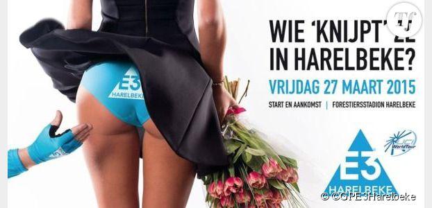 L'affiche sexiste de la course cycliste GP E3 crée la polémique