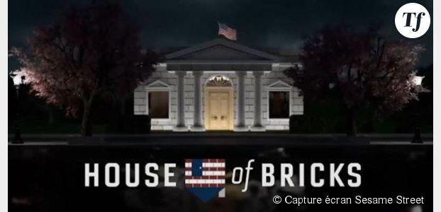House of Cards : la parodie de Sesame Street en vidéo
