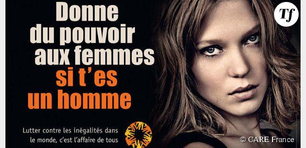 """""""Donne du pouvoir aux femmes, si t'es un homme"""" : l'appel de CARE France"""