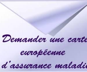 Demander une carte européenne d'assurance maladie
