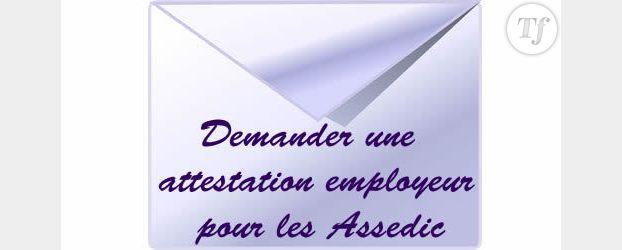 Demander Une Attestation Employeur Pour Les Assedic