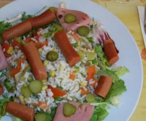 Recette concours : Salade composée