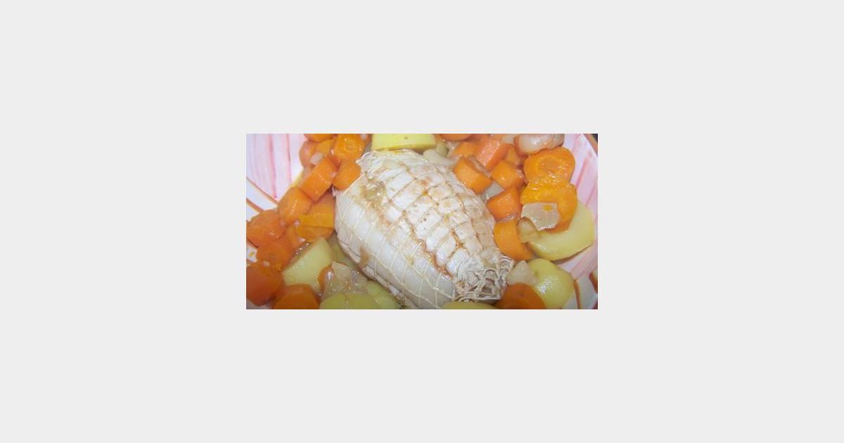 R ti de dinde aux carottes sans graisse - Cuisiner sans graisse ...