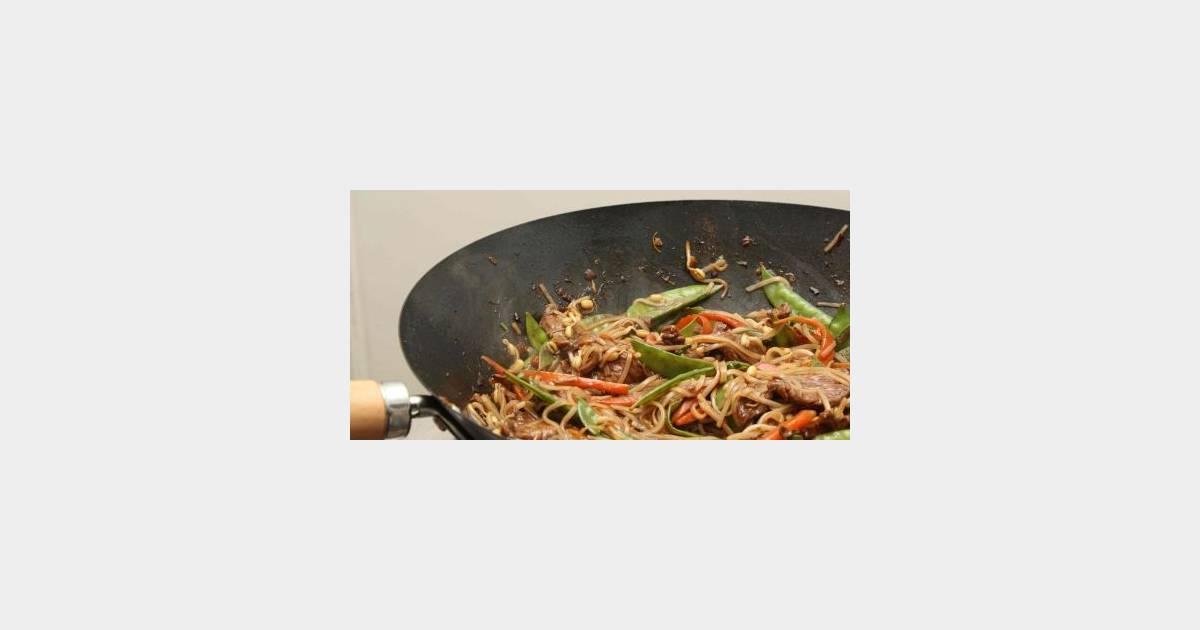 Filet de boeuf et l gumes au wok - Cuisson filet de boeuf au four chaleur tournante ...