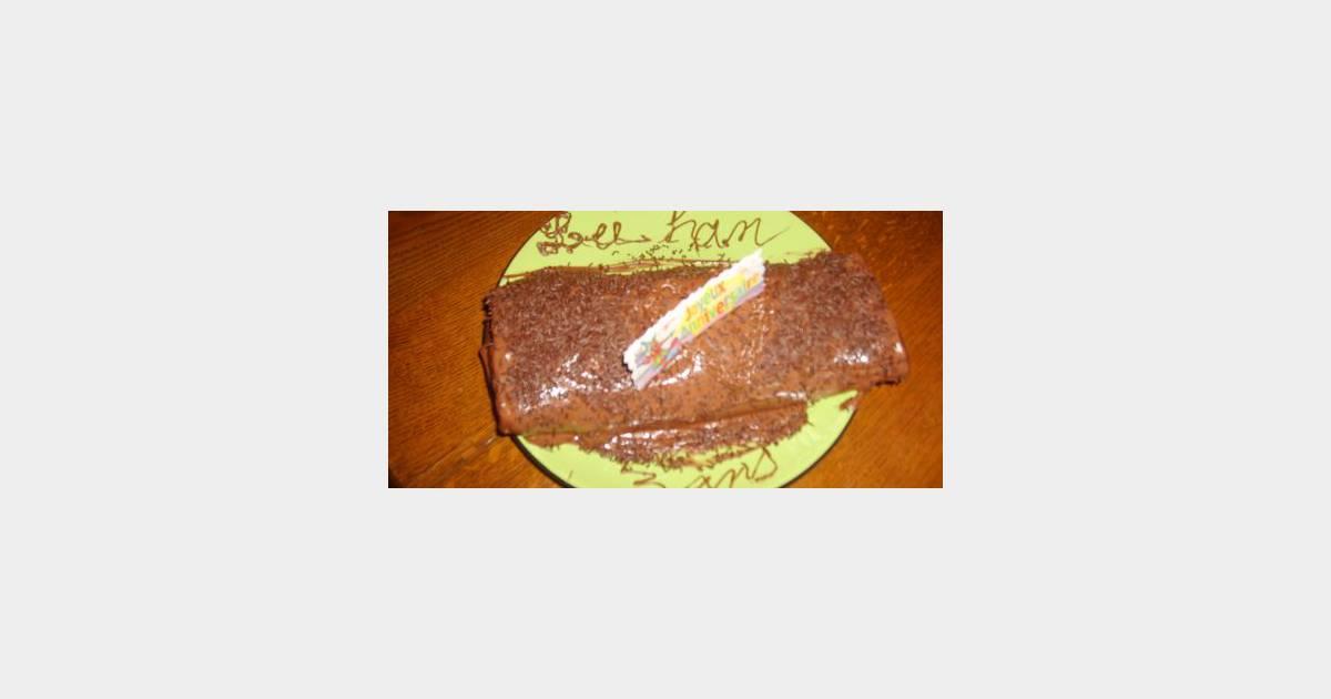 Concours chocolat b che la mousse au chocolat aromatis e for Buche a la mousse au chocolat