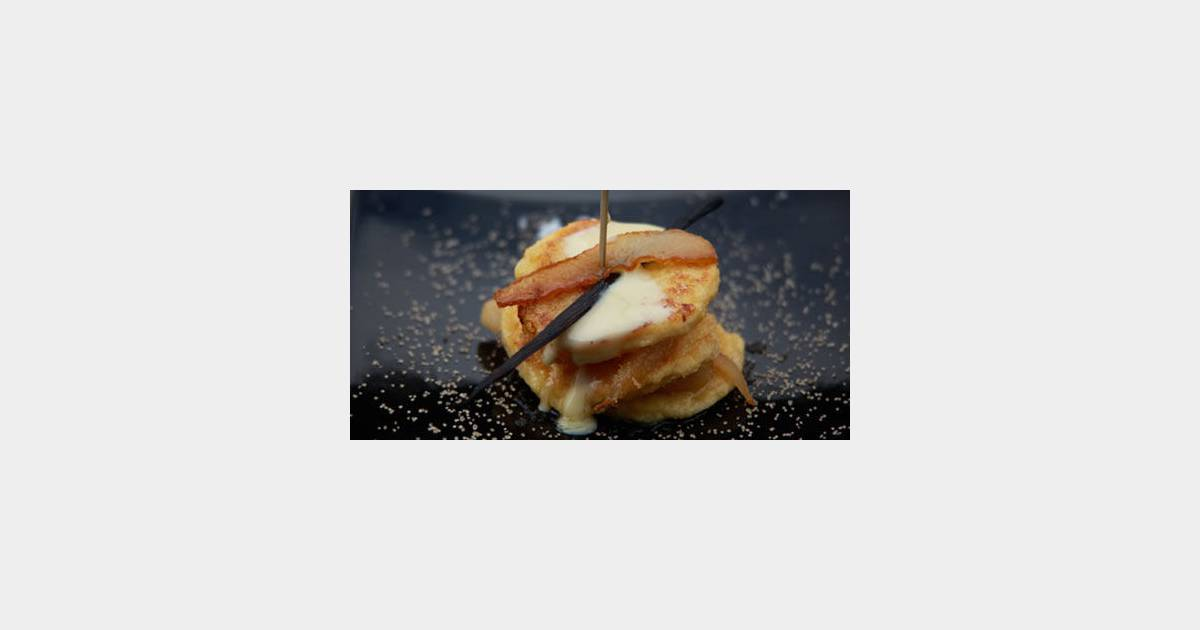 Comment cuisiner un pain perdu aux poires caram lis es - Comment cuisiner les marrons en boite ...