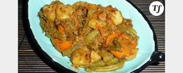 Curry de légumes au coco