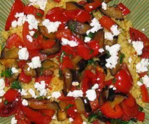 Recette concours : Salade de poivrons au fromage grec