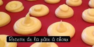 M6-Le Meilleur pâtissier : la recette de la pâte à choux
