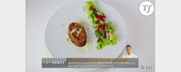 M6 - Top Chef 2013 : recette du soufflé de poule au pot