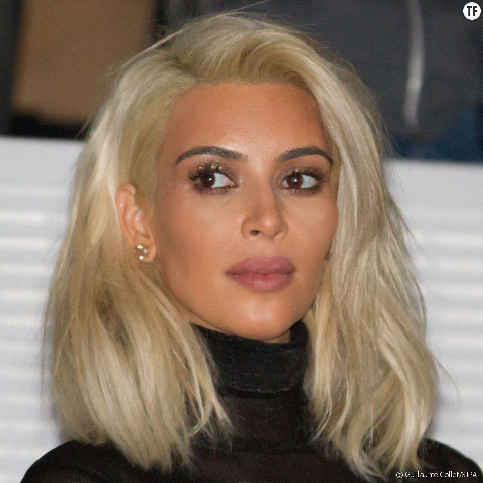 Kim Kardashian blonde le 7 mars 2015