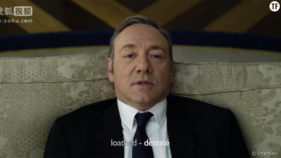 """Progresser en anglais en regardant """"House of Cards"""" ? Fun !"""