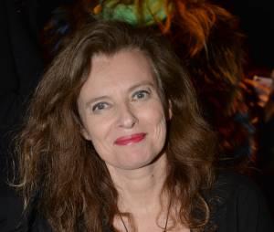 Valérie Trierweiler au défilé Paul & Joe automne-hiver 2015/2016 le 10 mars 2015 à Paris