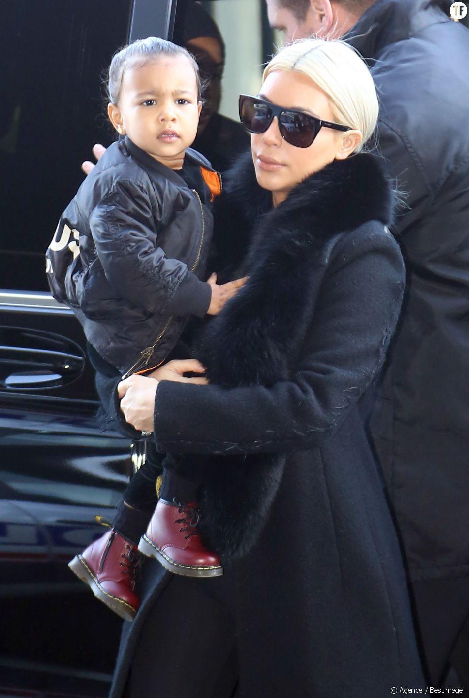 Kim Kardashian et sa fille North West