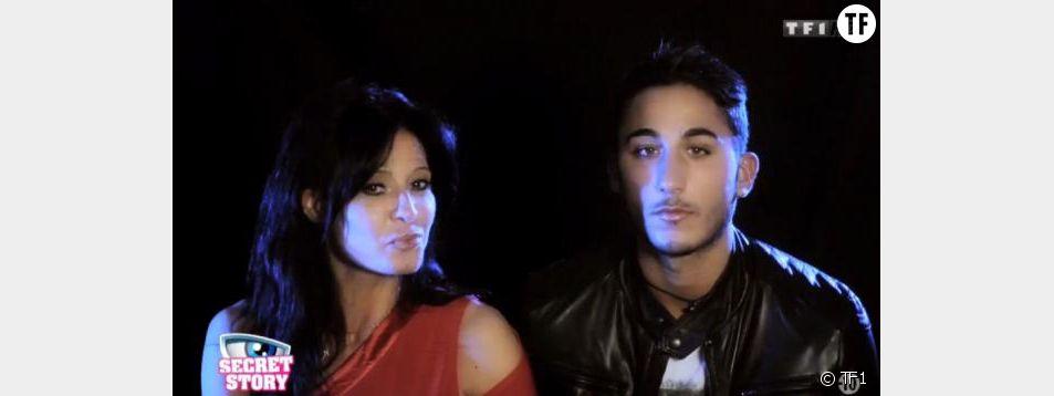 Le couple Nathalie / VIvian pendant Secret Story 8