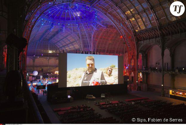 Cinéma Paradiso sous la Nef du Grand Palais, juin 2013.