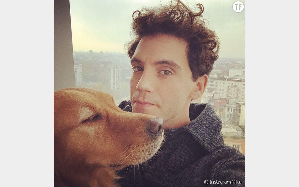 Mika et son chien Mel