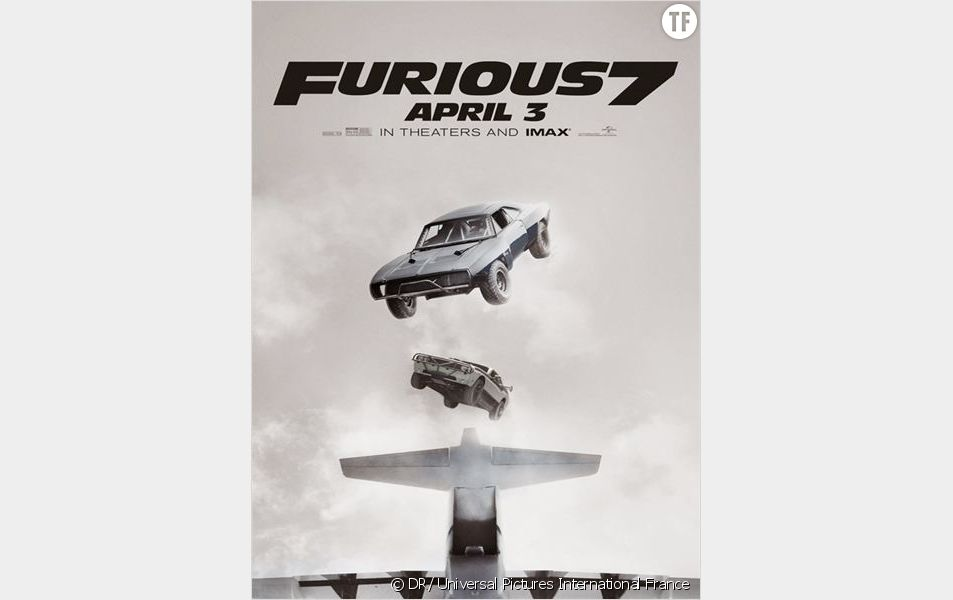 """L'une des affiches de """"Fast & Furious 7"""""""