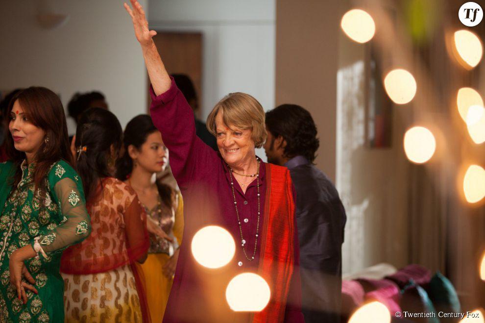 Maggie Smith dans Indian Palace : Suite royale